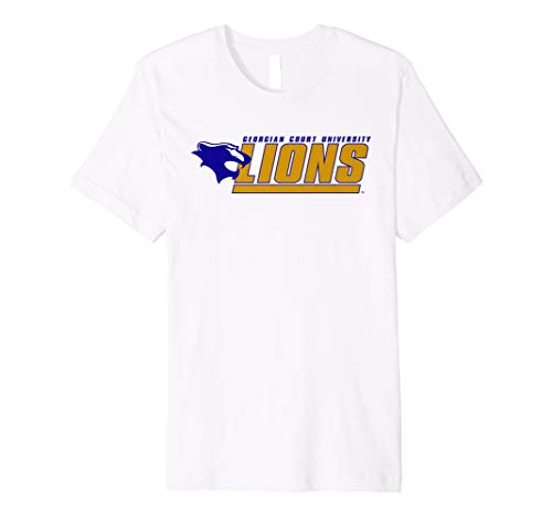 Georgian Court University Lions NCAA T-Shirt PPGCTU01 ()