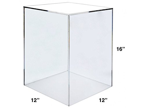 12 Display Cube (Marketing Holders Acrylic Display Cube Pedestal Art Sculpture Stand (12