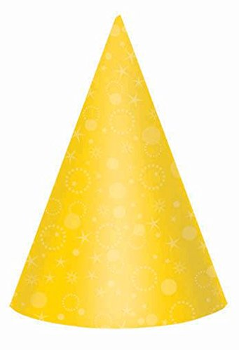 Blue Cone Party Hats (bright clrs prty hats 24ct)
