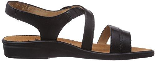 Ganter SONNICA, Weite E - Zapatos Mujer Negro (Negro 0100)