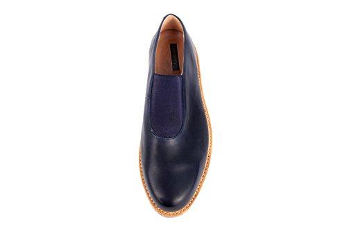 Neosens - Zapatos de cordones de Piel Lisa para hombre azul azul 42