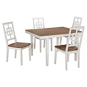 31lEH3rVObL._SS300_ Coastal Dining Room Furniture & Beach Dining Furniture