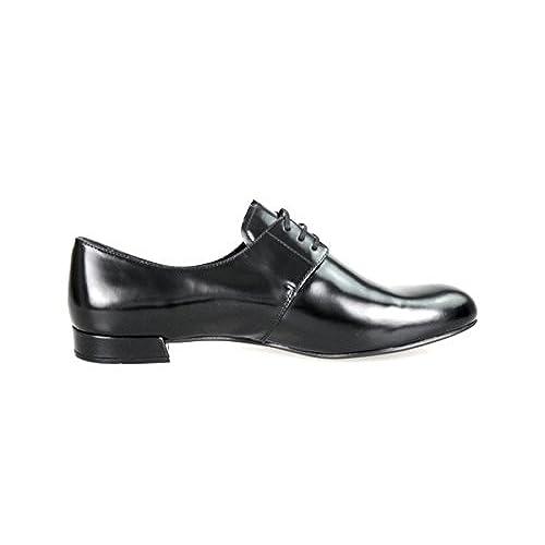 hot sale 2017 Prada Women's DNC645 Leather Lace-up Shoes