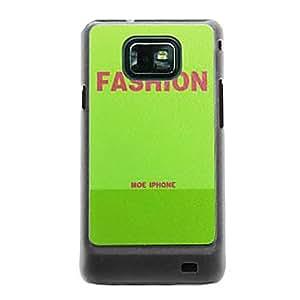 Patrón de las venas de cuero de moda Hard Case para Samsung Galaxy S2 i9100