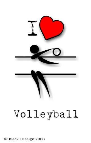 I Love voleibol 7,5 x 5 cm acrílico llavero: Amazon.es: Hogar