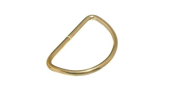 25mm D Ring Brass
