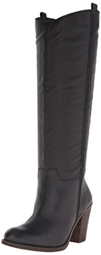 Lucky Women's Ebbie Riding Boot, Black, 7 M US