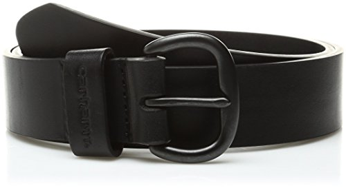 Ladies Jeans Leather (Carhartt Women's Leather Jean Belt,Black,Medium)