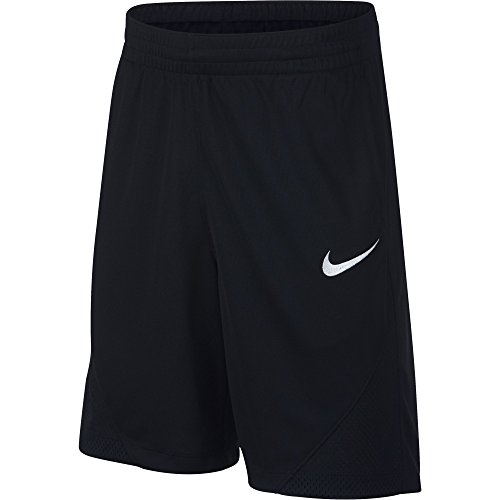Price comparison product image NIKE Boys' Assist Basketball Shorts,  Black / Black / Black / White,  Large
