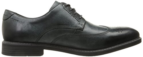 Rockport Hombres Classic Break Wingtip Oxford Dark Shadow Leather