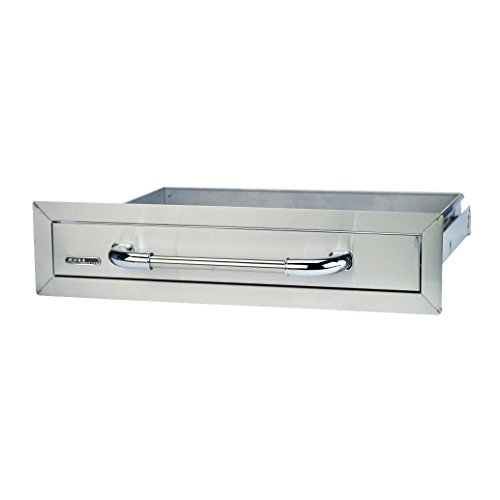 Stainless Steel Bbq Drawers (Bull Outdoor Products 09970 Single Drawer, Stainless Steel)