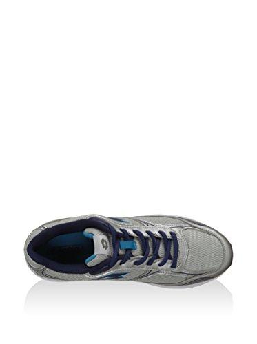 Lotto Sport Zapatillas Antares Vii Plateado / Azul EU 40 (US 7.5)