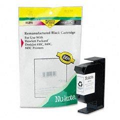 Nu Kote Remanufactured Inkjet (Nu-Kote RF215 (C6615DN) Remanufactured Inkjet Cartridge, Black)