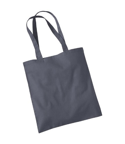 Tote Bag Graphite Adults Grey Promo Womens Mill Westford Shoulder w0qXS1U