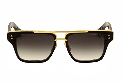 f6fac4ad656 Dita Mach Three DRX-2059-A DRX-2059A Matte Black 18K Gold Retro ...