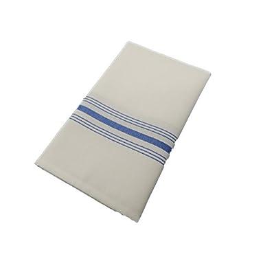 Milliken Signature Blue Stripe Bistro Napkins 1 Dozen