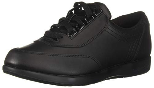 Hush Puppies Women's Classic Black Leather Walker - 7.5 B(M) US