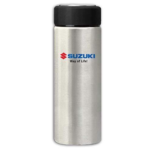 Ruige Hongke Suzuki Logo Insulation Scrub Business Water Bottles Gray One Size