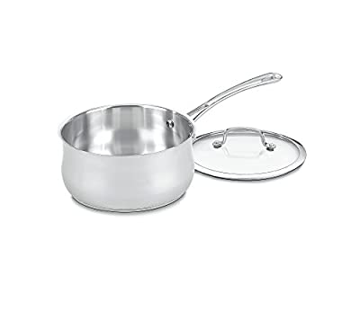 Cuisinart Contour Stainless Saucepan with Cover