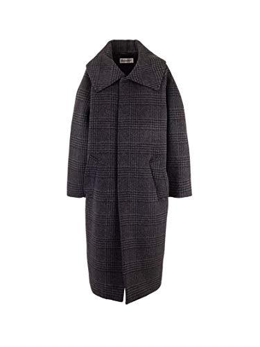 Balenciaga Luxury Fashion Womens 594880TGU031140 Grey Coat | Fall Winter 19