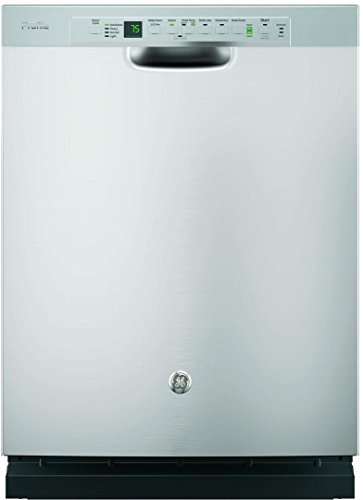 GE PDF820SSJSS Profile 24' Stainless Steel Full Console Dishwasher - Energy Star
