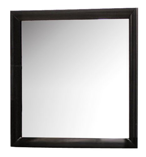 - ACME 04164 Ireland Mirror, Black Finish