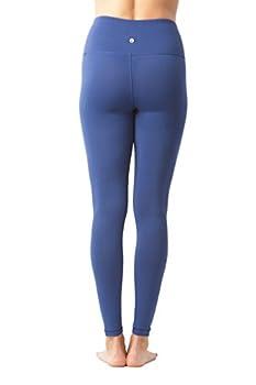 90 Degree By Reflex High Waist Power Flex Legging – Tummy Control - Black & Winter Blue 2 Pack - Small 5