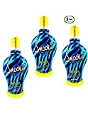 3 Pack of 2014 SNOOKI SKINNY DARK BLACK BRONZER FIRMING INDOOR TANNING BED LOTION SUPRE, 12 oz (Three Units Per Order, 36 FL OZ TOTAL)