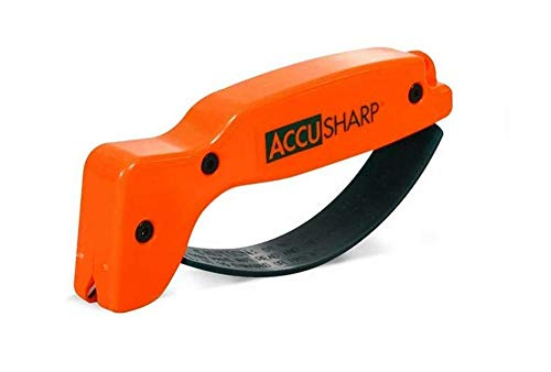 - Accusharp 014C Knife Sharpener, Blaze Orange