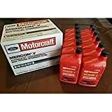 transmission fluid motorcraft - Motorcraft XT5QMC Mercon V Automatic Transmission Fluid - Case of 12 by Motorcraft