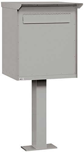Salsbury Industries 4276GRY, Large, Gray Pedestal Drop Box