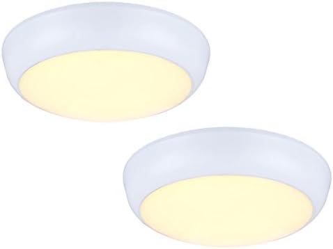 Set di bianco led luci esterne john per parete e soffitto ø 32 5 cm