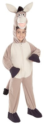 Shrek Donkey Kids Costumes (Shrek the Third Deluxe Fleece Donkey Costume)