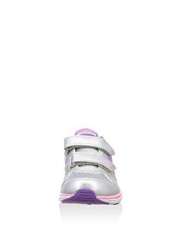 Diadora - Zapatillas de voleibol de Material Sintético para hombre Plata / Lila