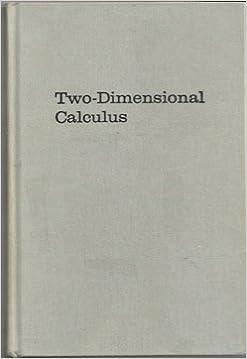 Kostenlose Online-Bücher zum Lesen Two-Dimensional Calculus by Robert Osserman PDF