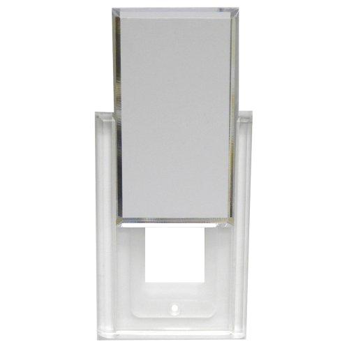 (Mirart Hide-A-Plate Decora Plug Acrylic Mirror Switch Plate)