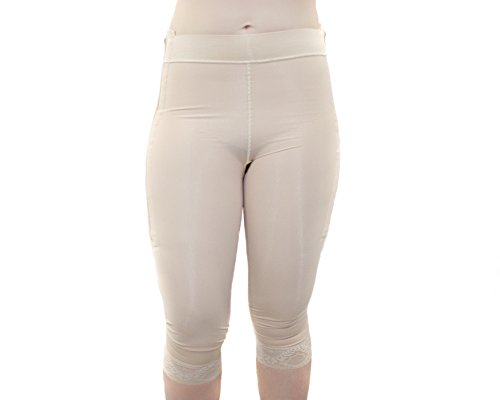ContourMD Post Surgery Compression Shorts Mid Calf 2
