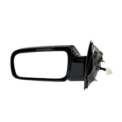 Partomotive 88-98 Chevy Astro Safari Van Power Black Rear View Door Mirror Left Driver Side