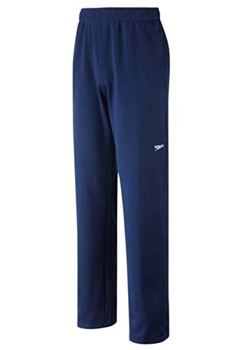 Speedo Men's Streamline Warm Up Pant, Navy, Large
