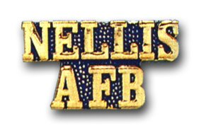 US Air Force Nellis AFB Bar Lapel Pin