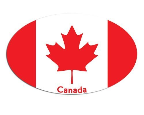 canada oval decal - 9