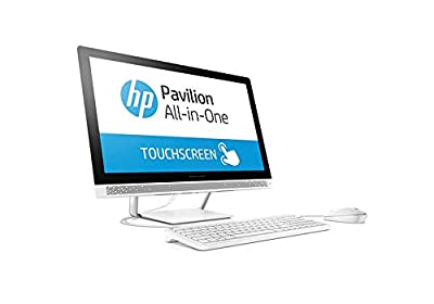 "2019 Flagship HP Pavilion 23.8"" FHD IPS Touchscreen All-in-One Desktop Intel Six-Core i5-8400T up to 3.3GHz 12GB DDR4 256GB SSD DVD Bluetooth 4.2 802.11ac USB 3.1 Type-C Keyboard & Mouse Win 10"