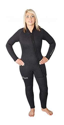 - Storm Size 14 X-Large 7mm 2 Piece Step-In Wetsuit for Women - Great for Cold Water, Diving, Snorkeling, and Pools