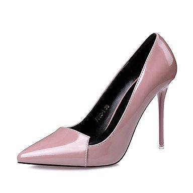 Vestido 4 Mujer RTRY UK3 Stiletto Rosa Almendra Negro Tacones US5 4A La Comfortfall CN34 Pulg Púrpura Luz Talón EU35 Gris 3 4 66rq5wER