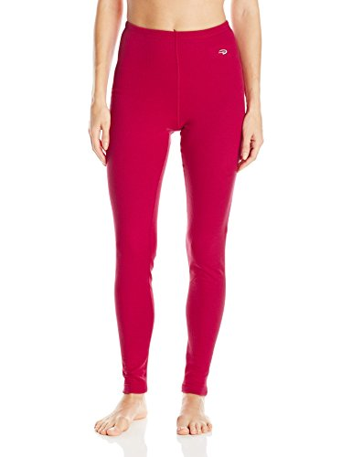 Duofold Women's Thermal Pant, Berry Delight, XL (Detail Thermal)