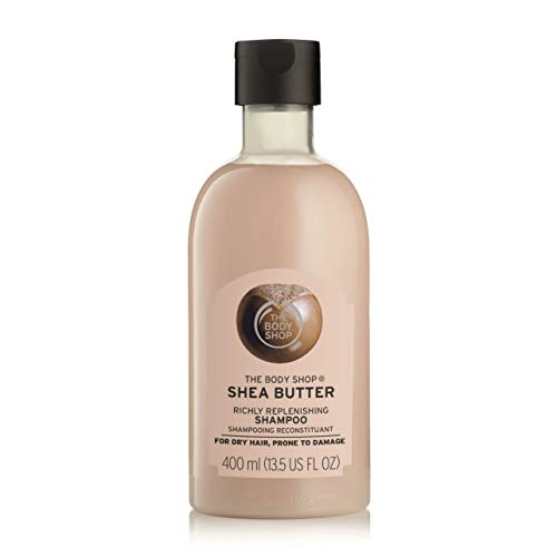 The Body Shop Richly Replenishing Shea Shampoo, 13.5 Ounce (Best Body Shop Shampoo For Frizzy Hair)