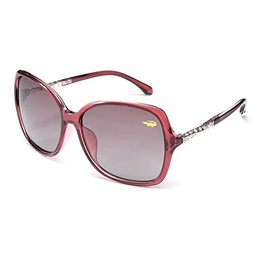 (2019 New Luxury Brand Designer Ladies Oversized Square Sunglasses Women Diamond Frame Mirror Sun Glasses For Female 8320,Red )