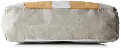 l 10x45x40 Adelheid Einkaufstasche Glückspilz Cm Leder Cartella papierbraun H Streifen D Donna Veganes Braun X qPRafq