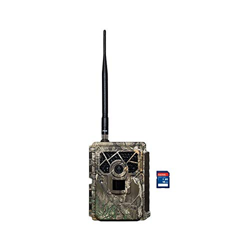 Covert Blackhawk LTE Wireless Live Video Photo Game Trail Camera + 16GB SD Card