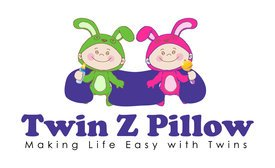 THE TWIN Z PILLOW - LIME GREEN -The Only 6 in 1 Twin Pillow Breastfeeding, Bottlefeeding, Tummy Time & Support! A Must Have for Twins! - LIME GREEN by Twin Z (Image #6)